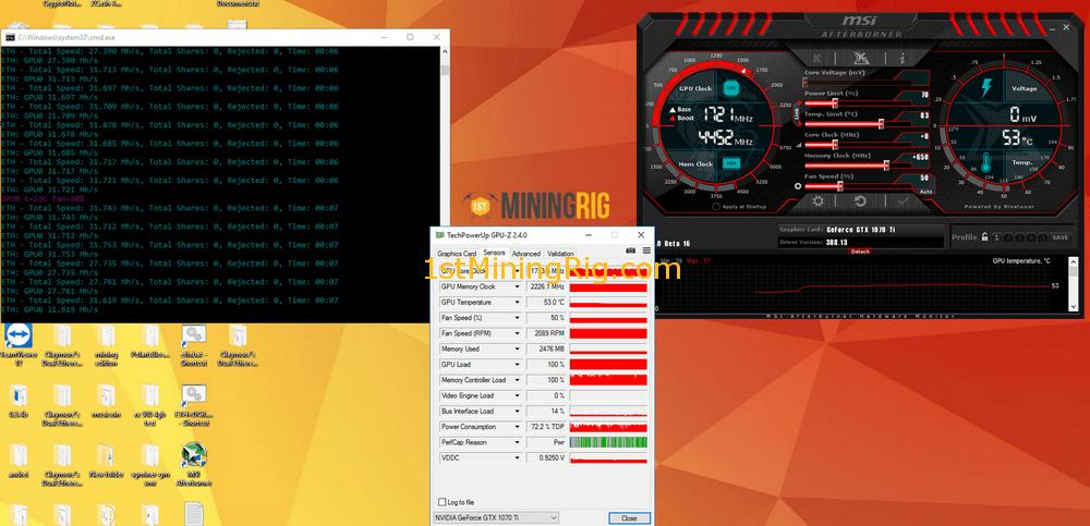Gigabyte-GeForce-GTX-1070-Ti-Gaming-Ethereum-Mining-Hashrate-Overclock