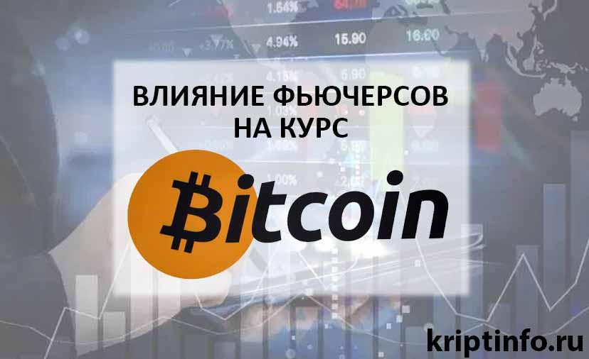 Влияние фьючерсов на курс Bitcoin